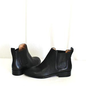 Madewell The Ainsley Chelsea Boot Black New J8295